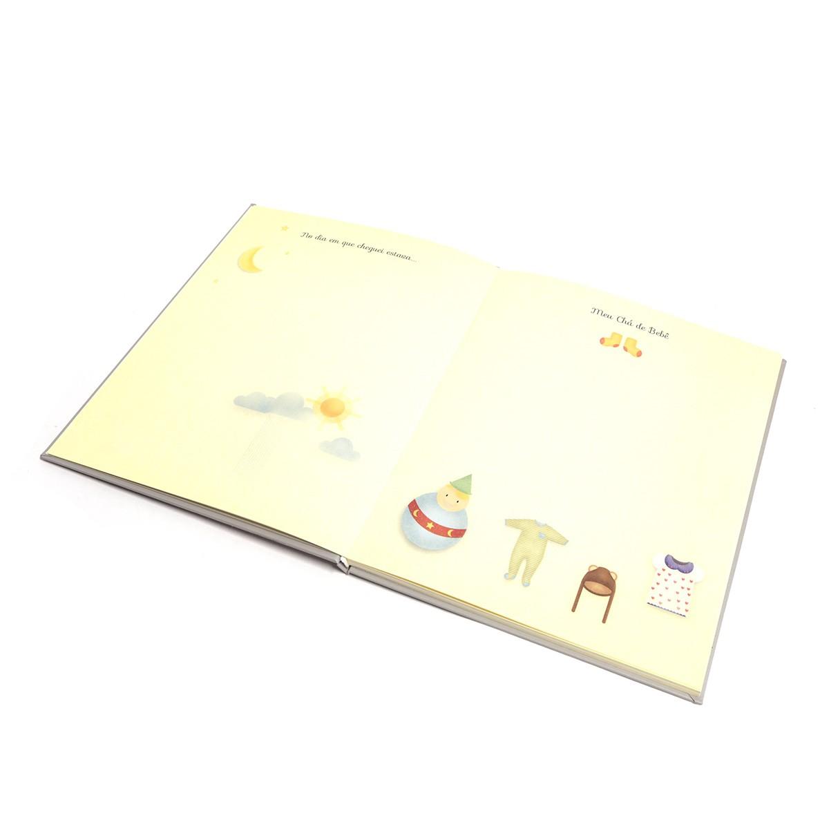 Livro do bebê (Elefante Rosa)