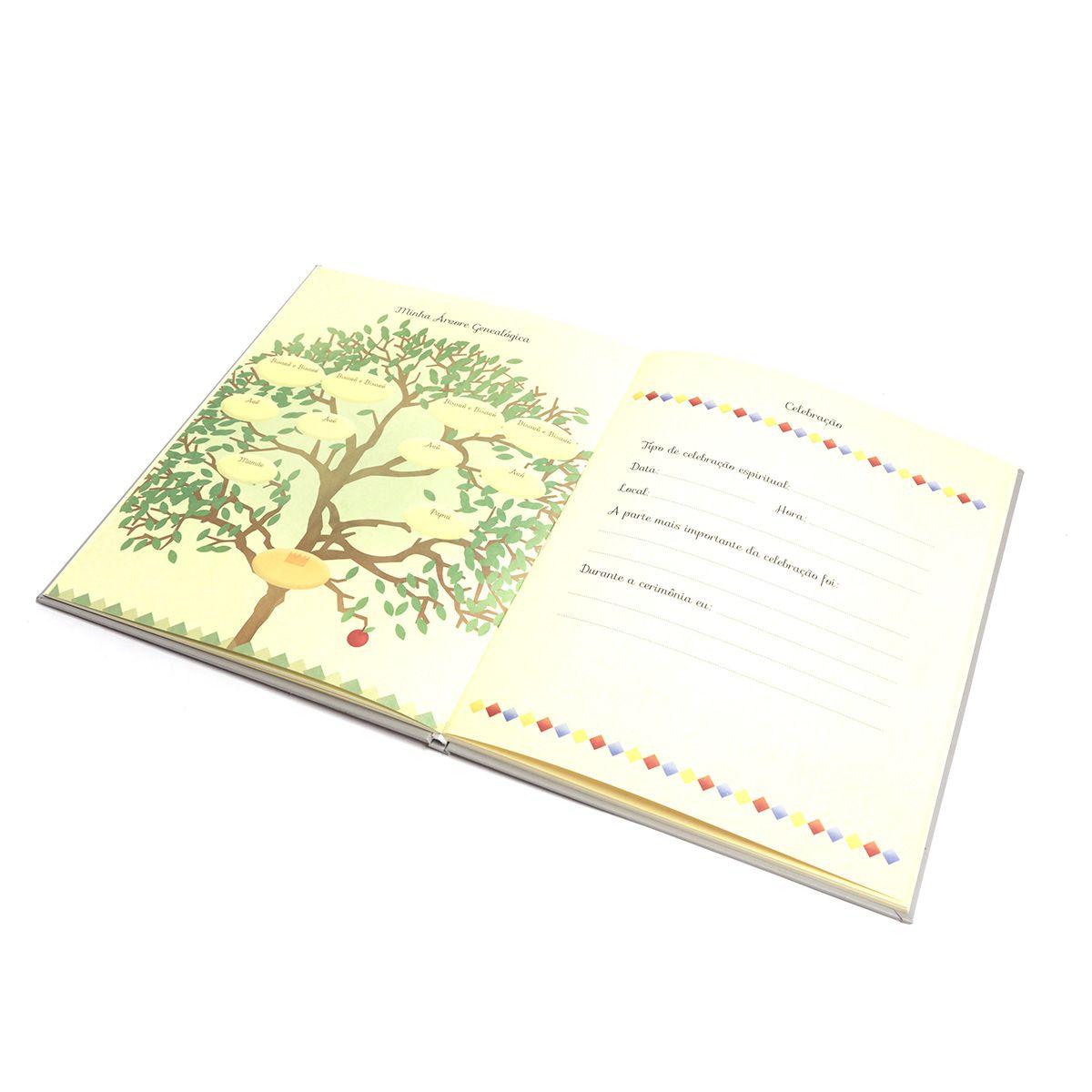 Livro do bebê (Urso Azul)