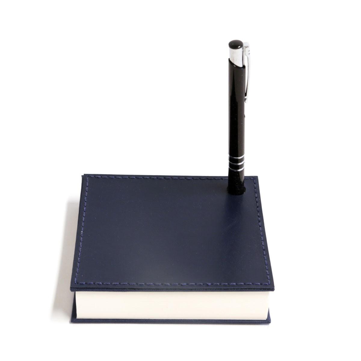 Mini bloco com caneta (Montana Azul Marinho)