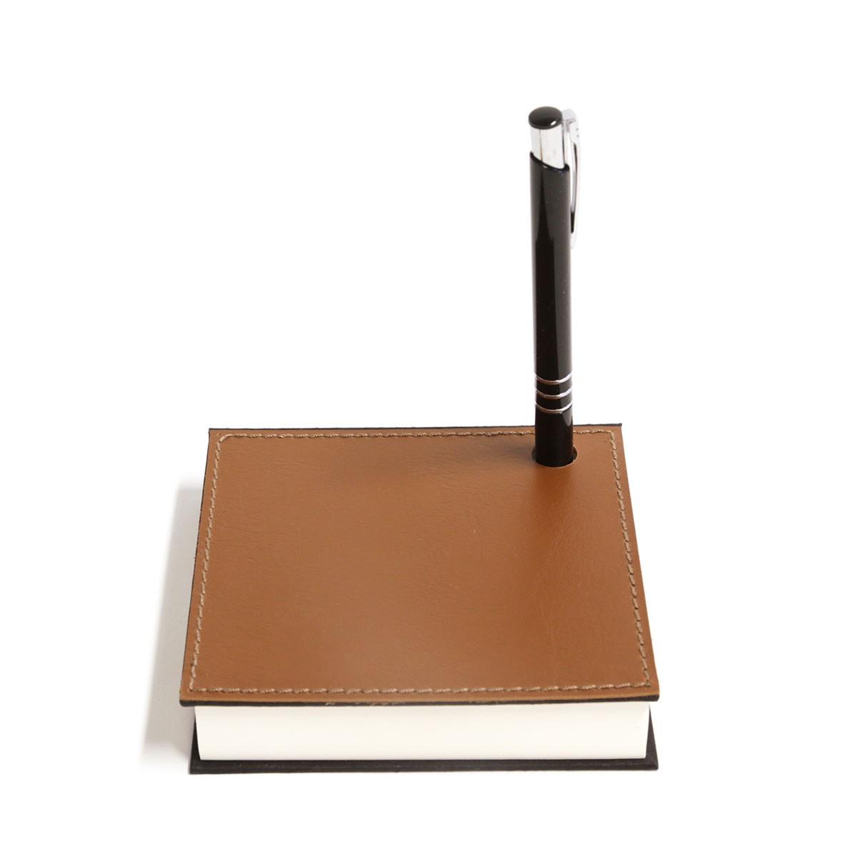 Mini bloco com caneta (Montana Havana)