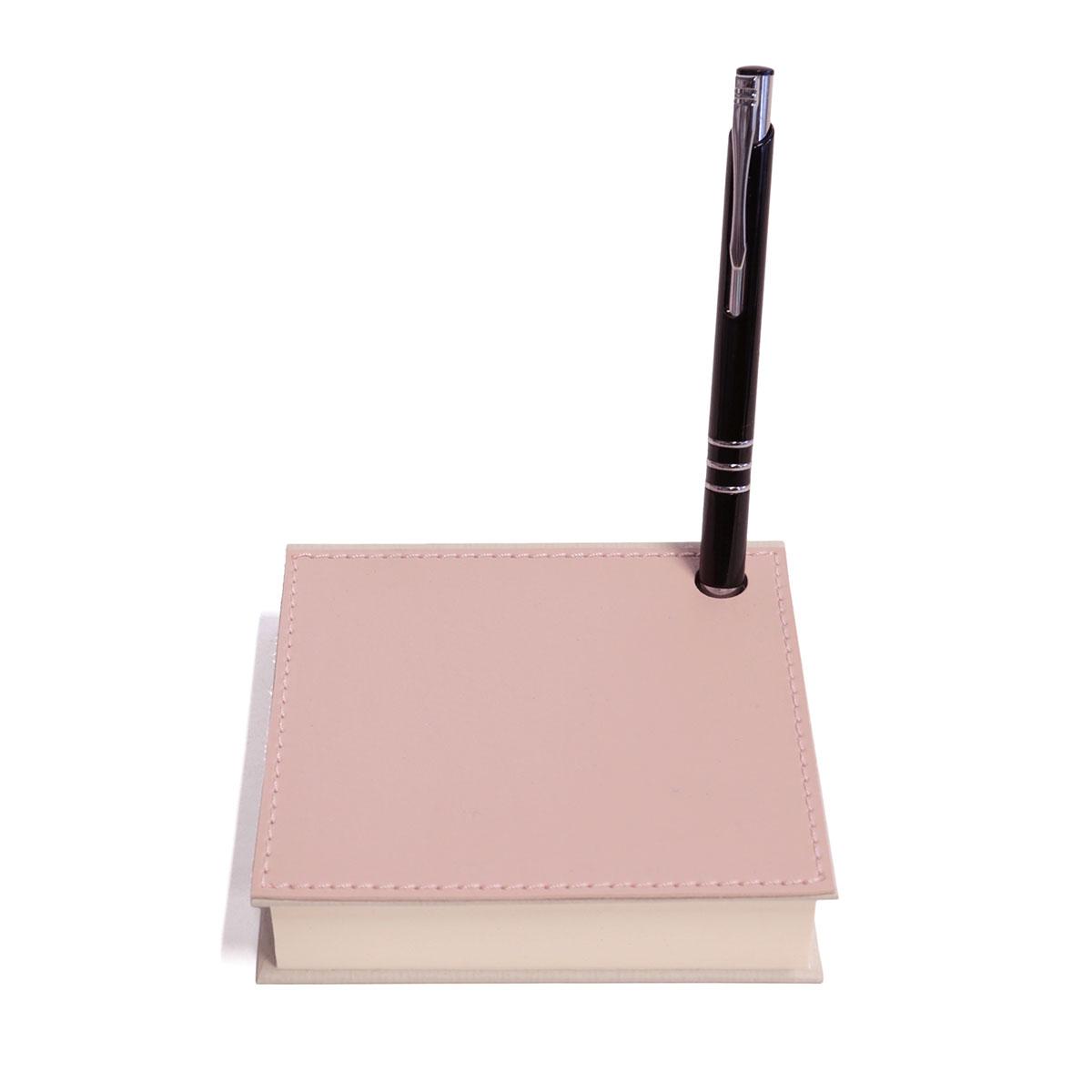 Mini bloco com caneta (Montana Rosé)