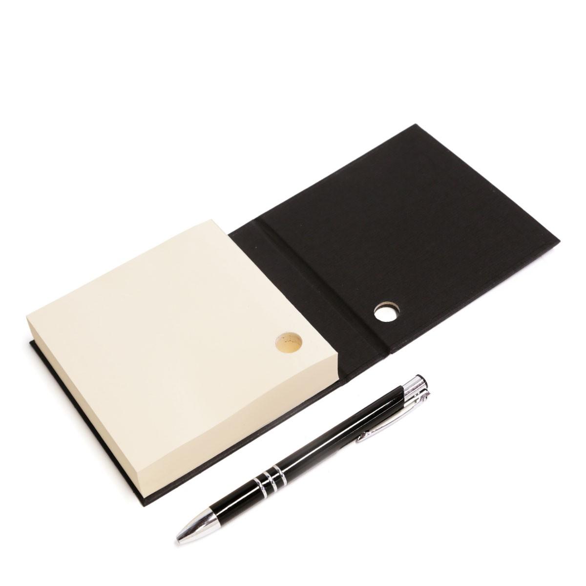 Mini bloco com caneta (Montana Vermelho)