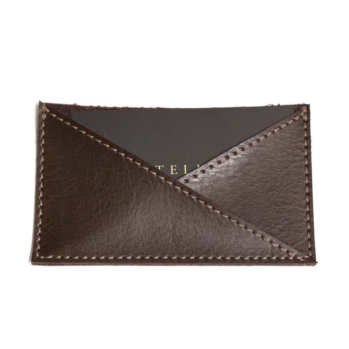 Porta cartão de bolso (Montana Marrom)
