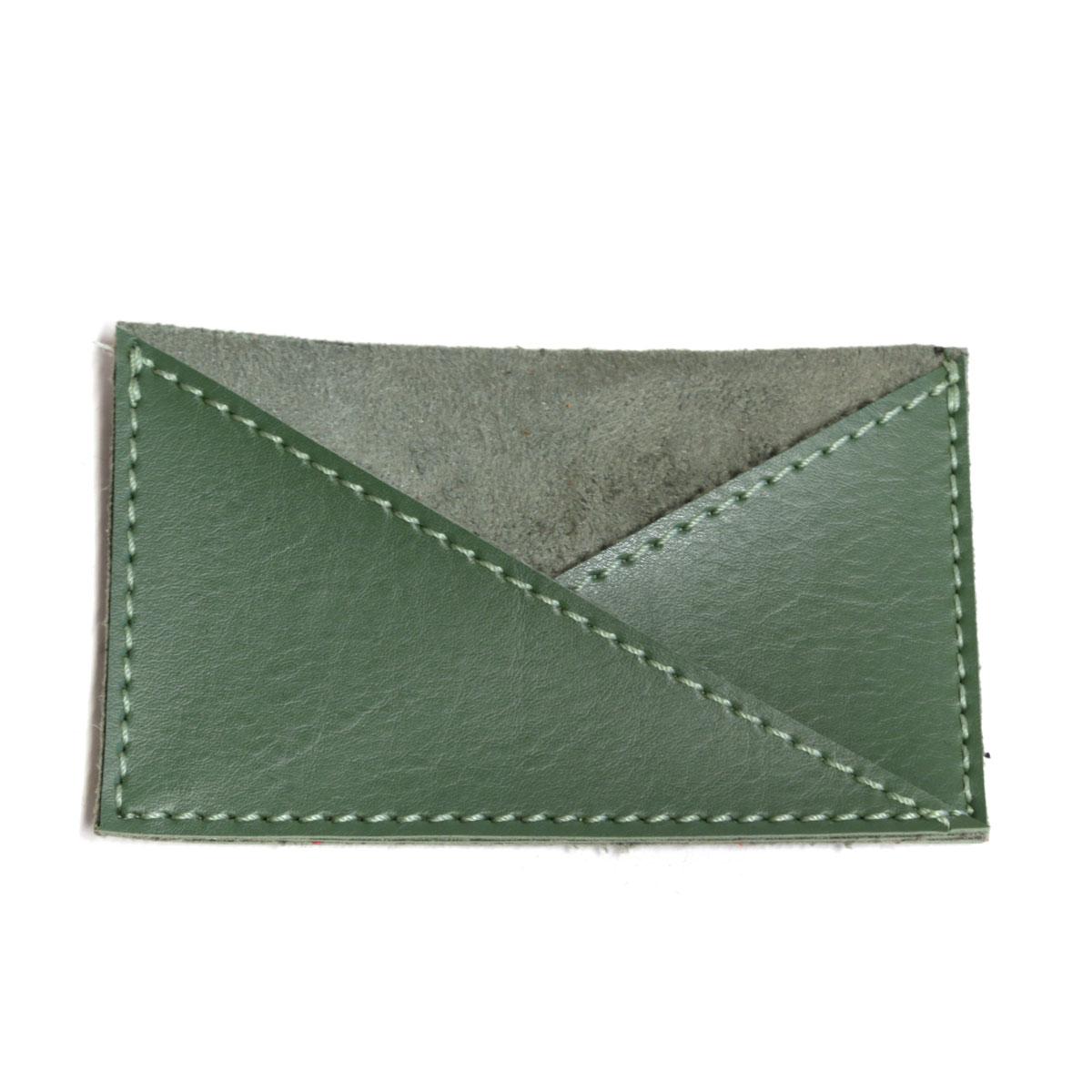 Porta cartão de bolso (Montana Verde Musgo)