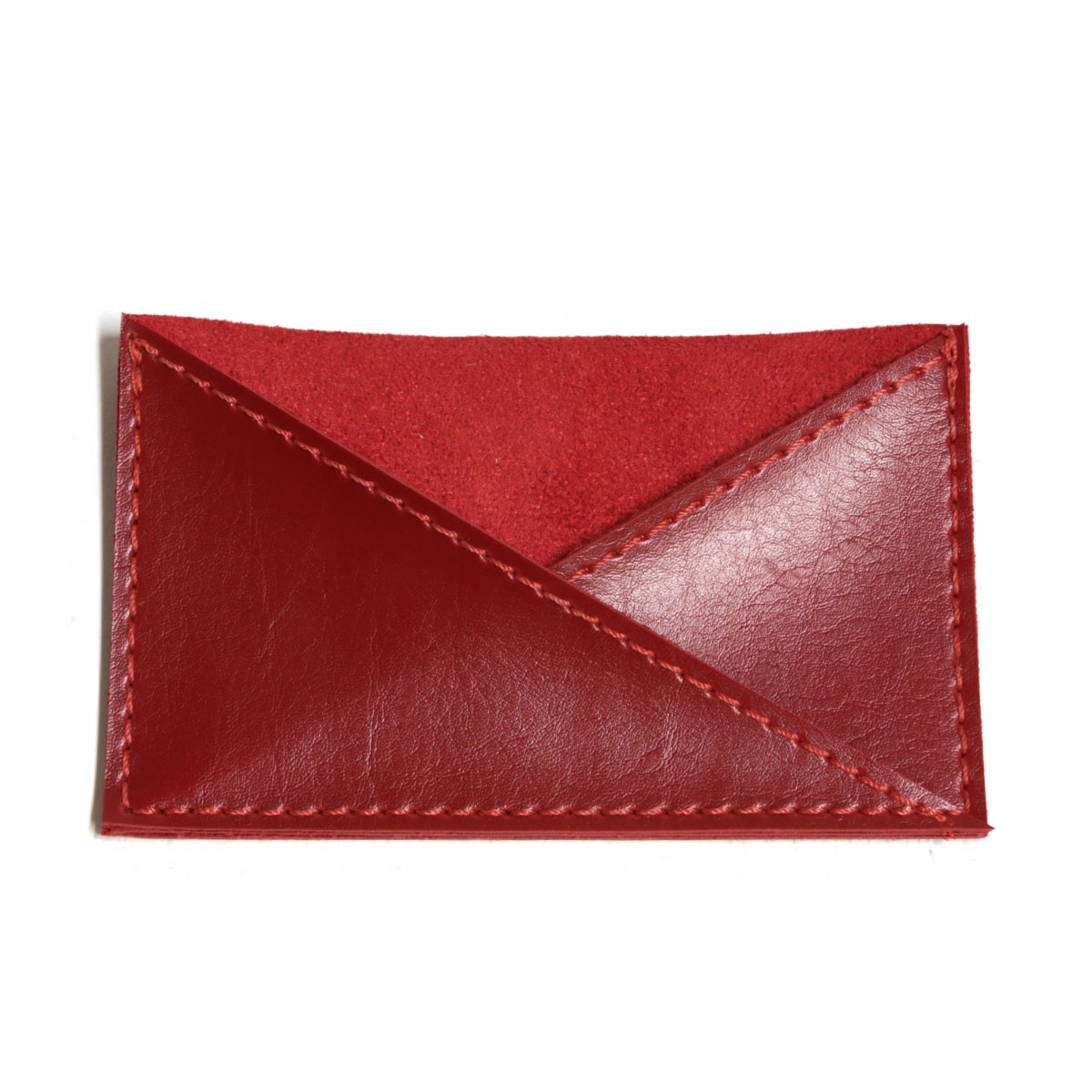 Porta cartão de bolso (Montana Vermelho)