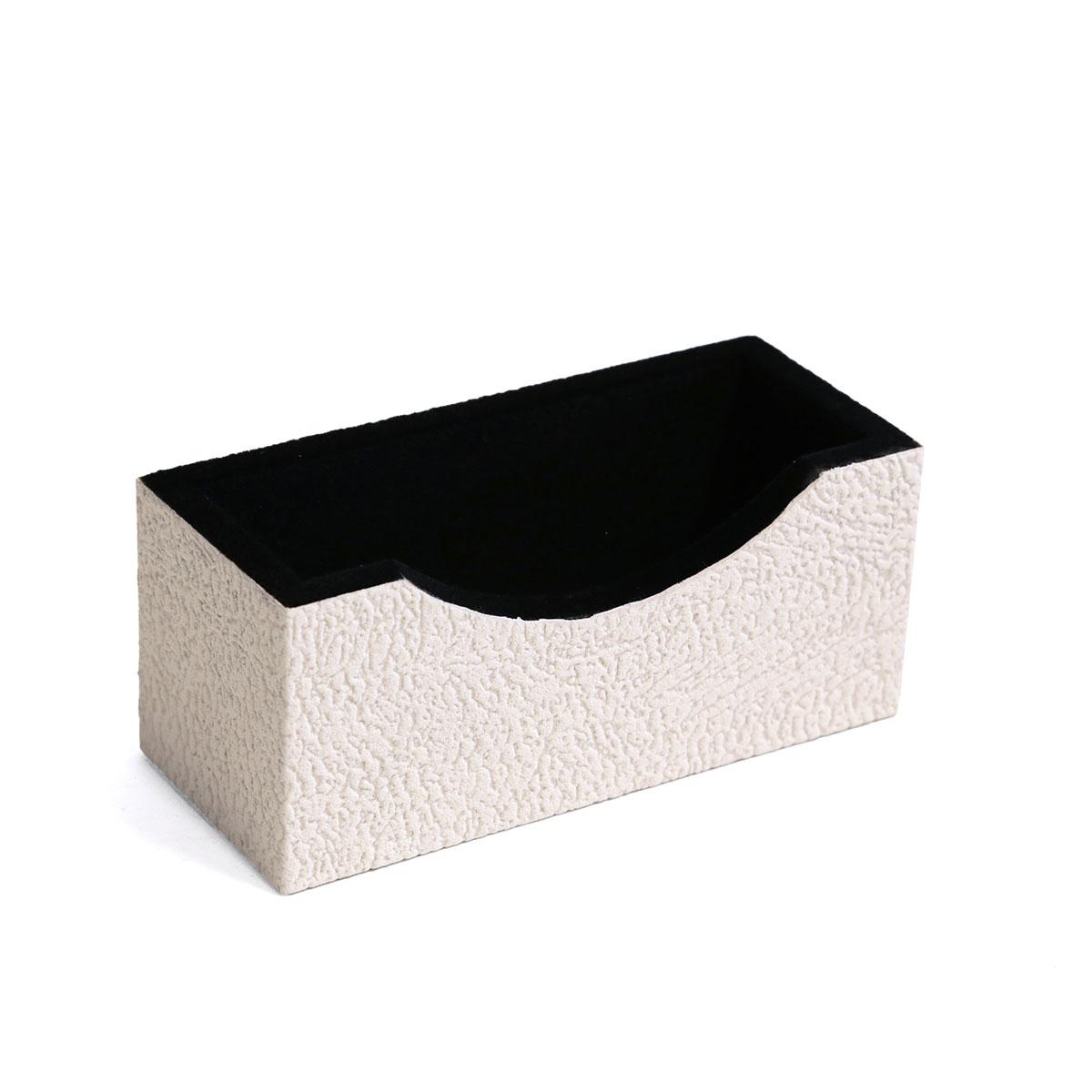Porta cartão de visita (Savana Off White)