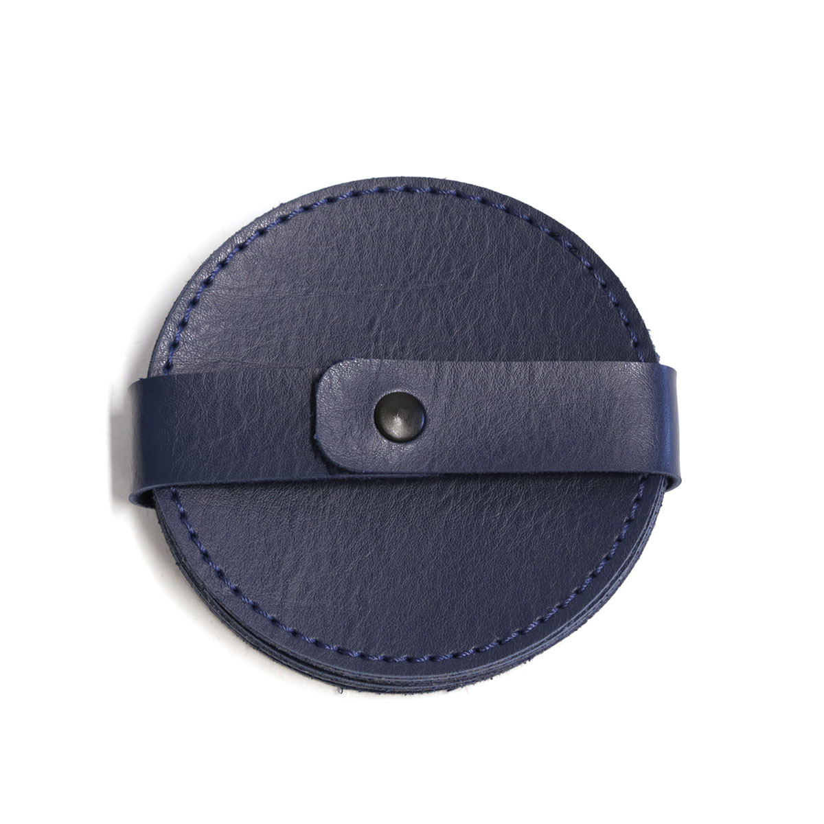 Porta copo redondo (Montana Azul Marinho)