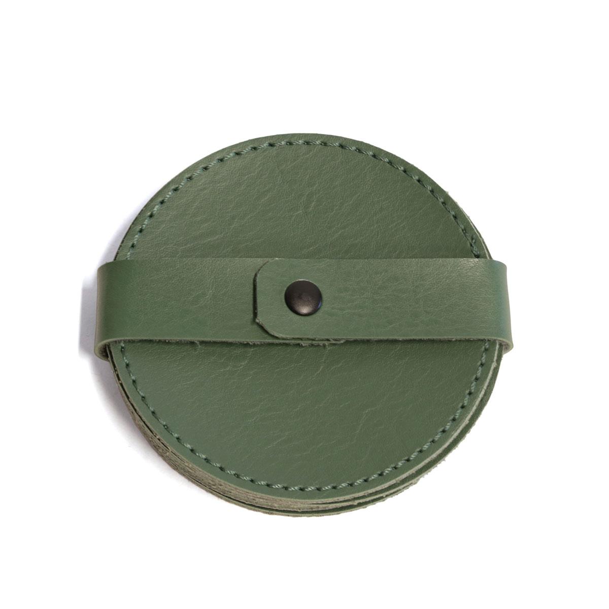 Porta copo redondo (Montana Verde Musgo)