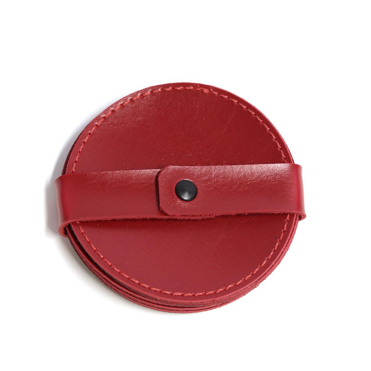 Porta copo redondo (Montana Vermelho)