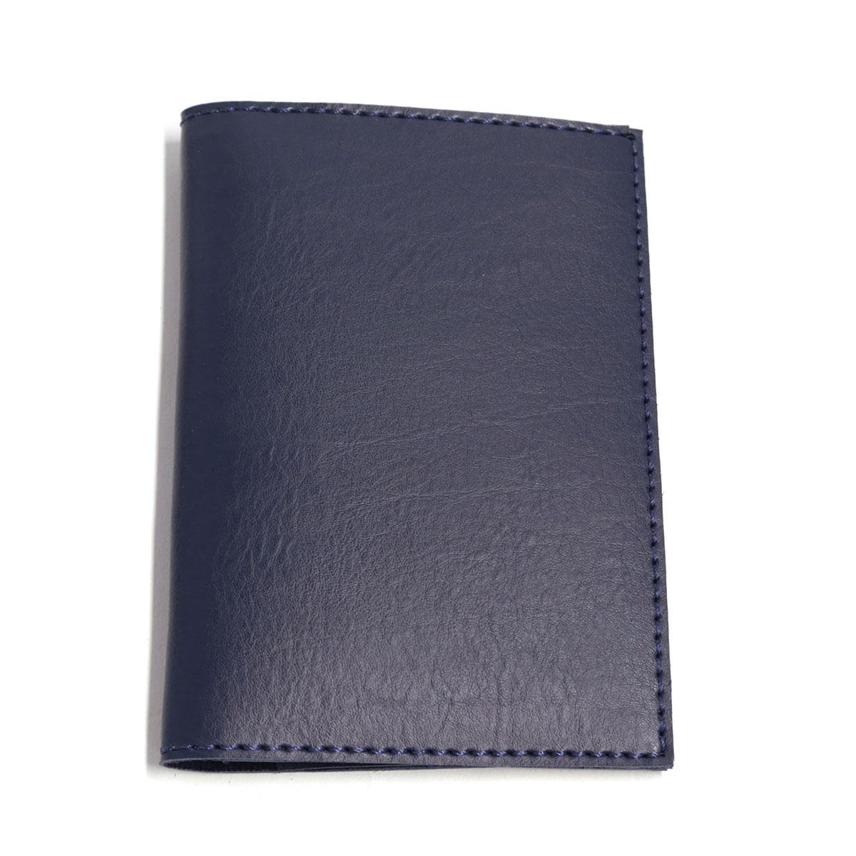 Porta passaporte com bolso (Montana Azul Marinho)