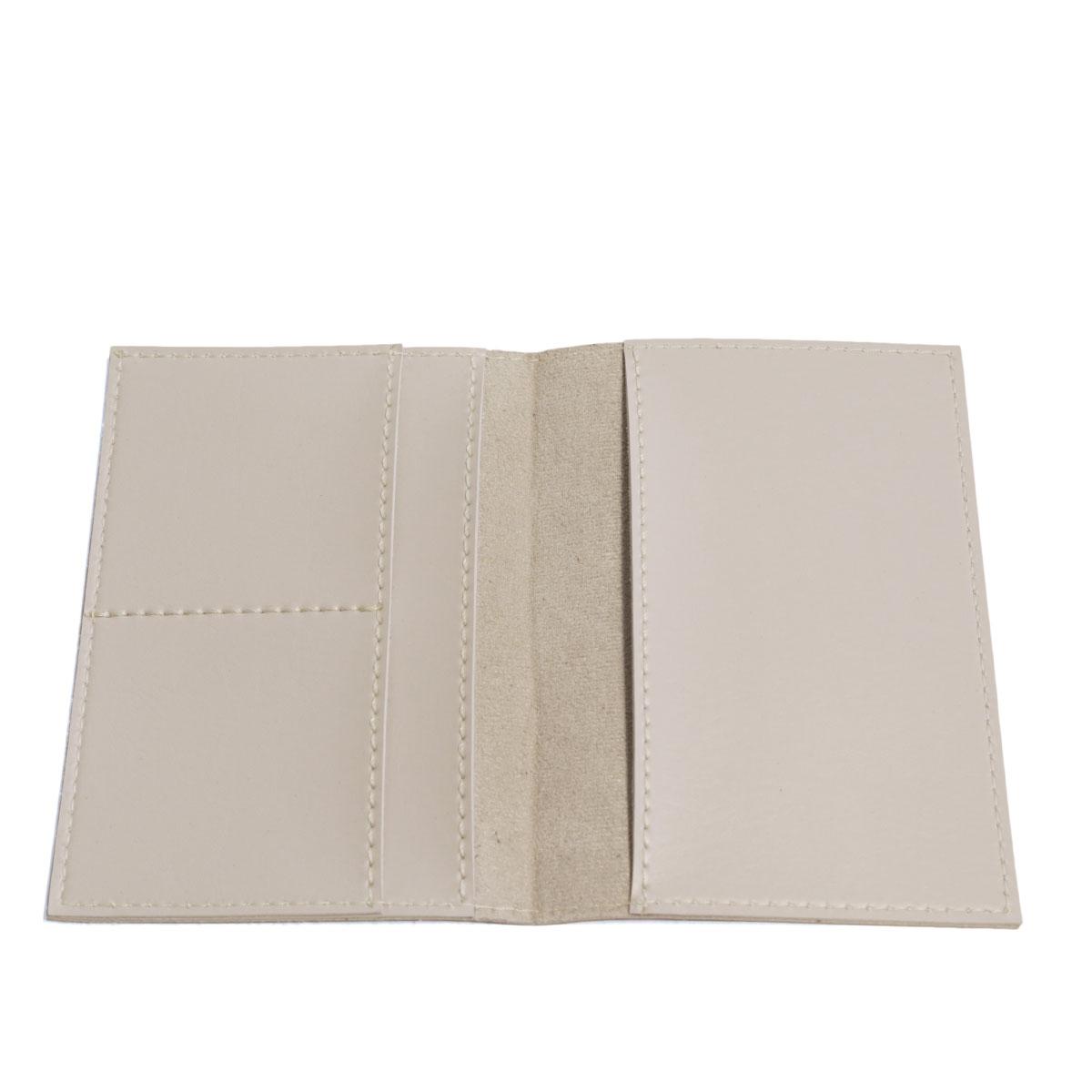 Porta passaporte com bolso (Montana Gelo)