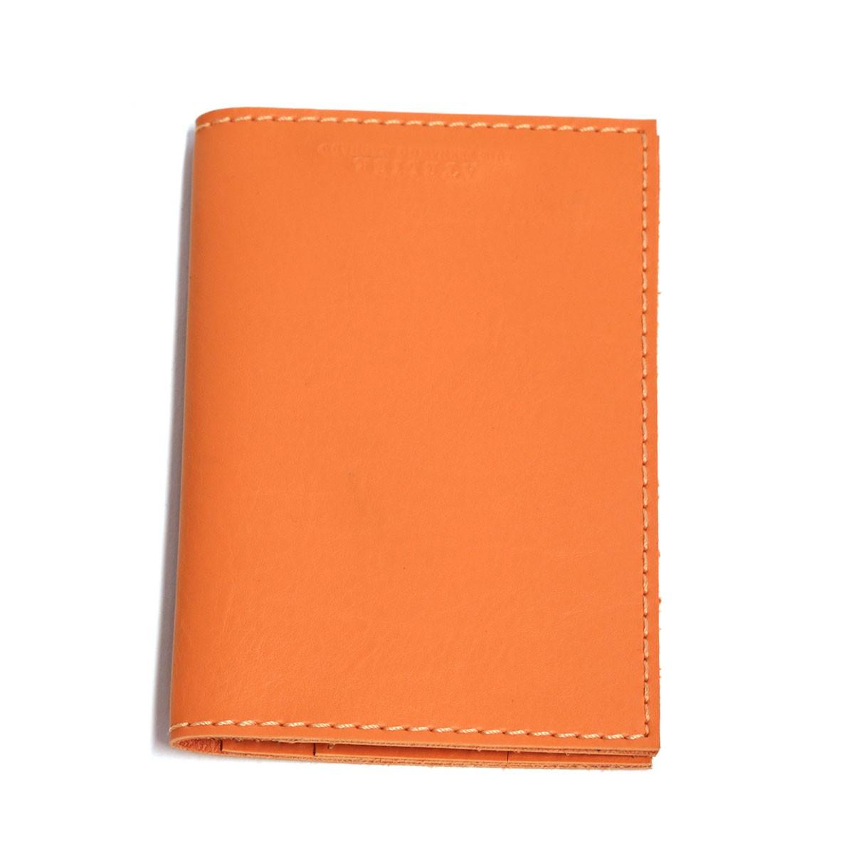 Porta passaporte com bolso (Montana Laranja)