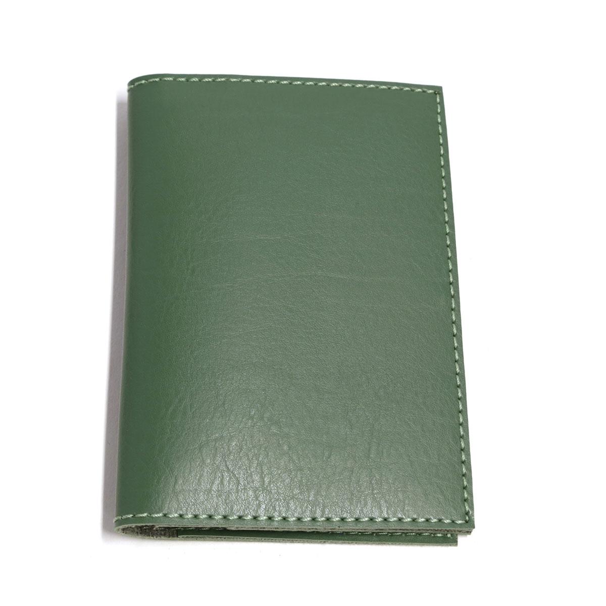Porta passaporte com bolso (Montana Verde Musgo)