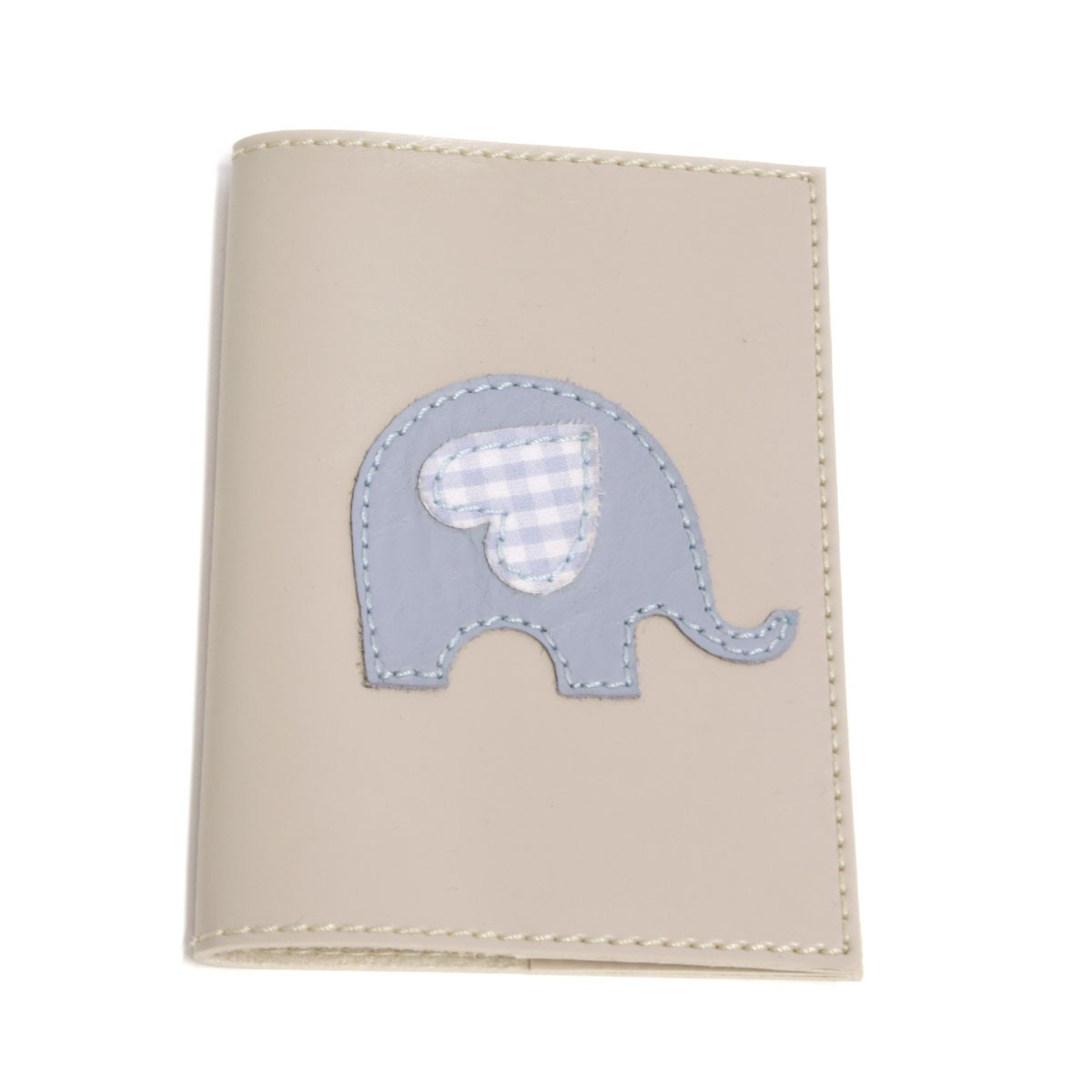 Porta passaporte (Elefante Azul)