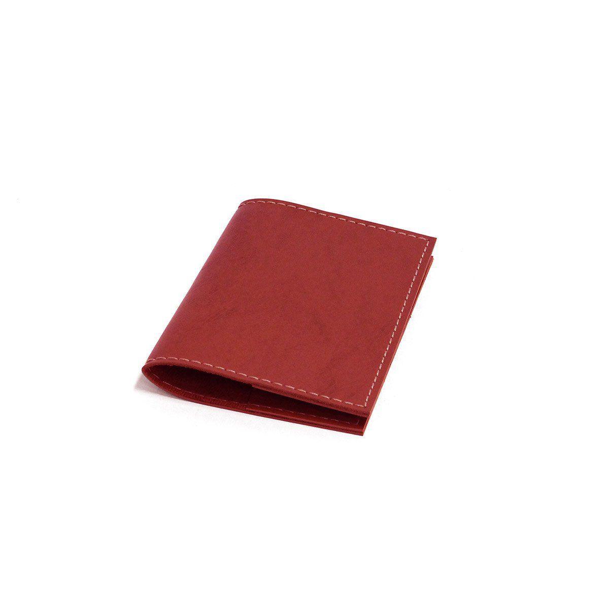 Porta passaporte (Montana Vermelho)