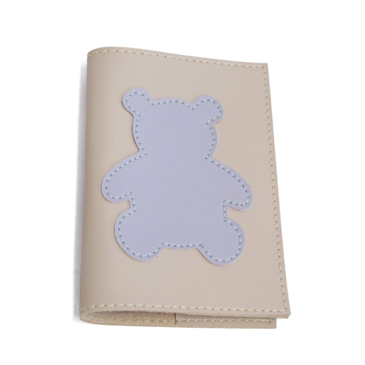 Porta passaporte (Urso Azul)