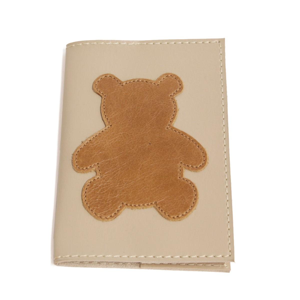 Porta passaporte (Urso Caramelo)