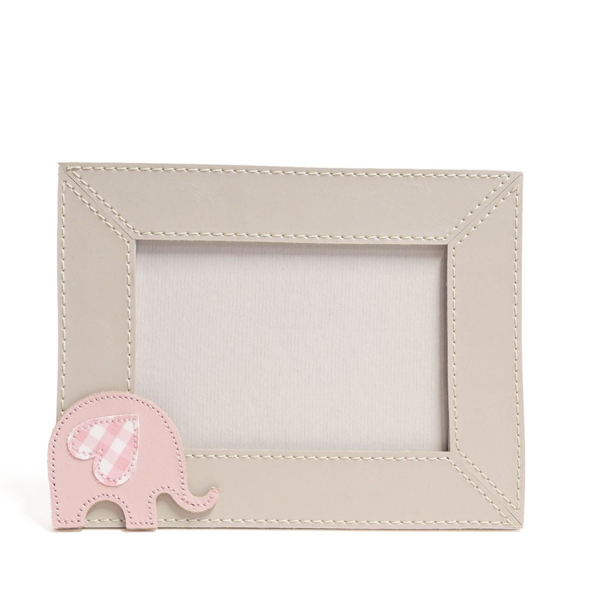 Porta-retrato (Elefante Rosa)