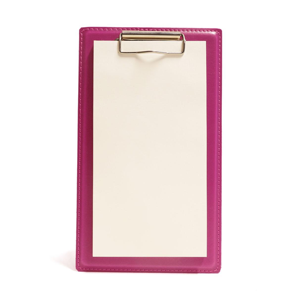 Prancheta mini com bloco (Montana Pink)