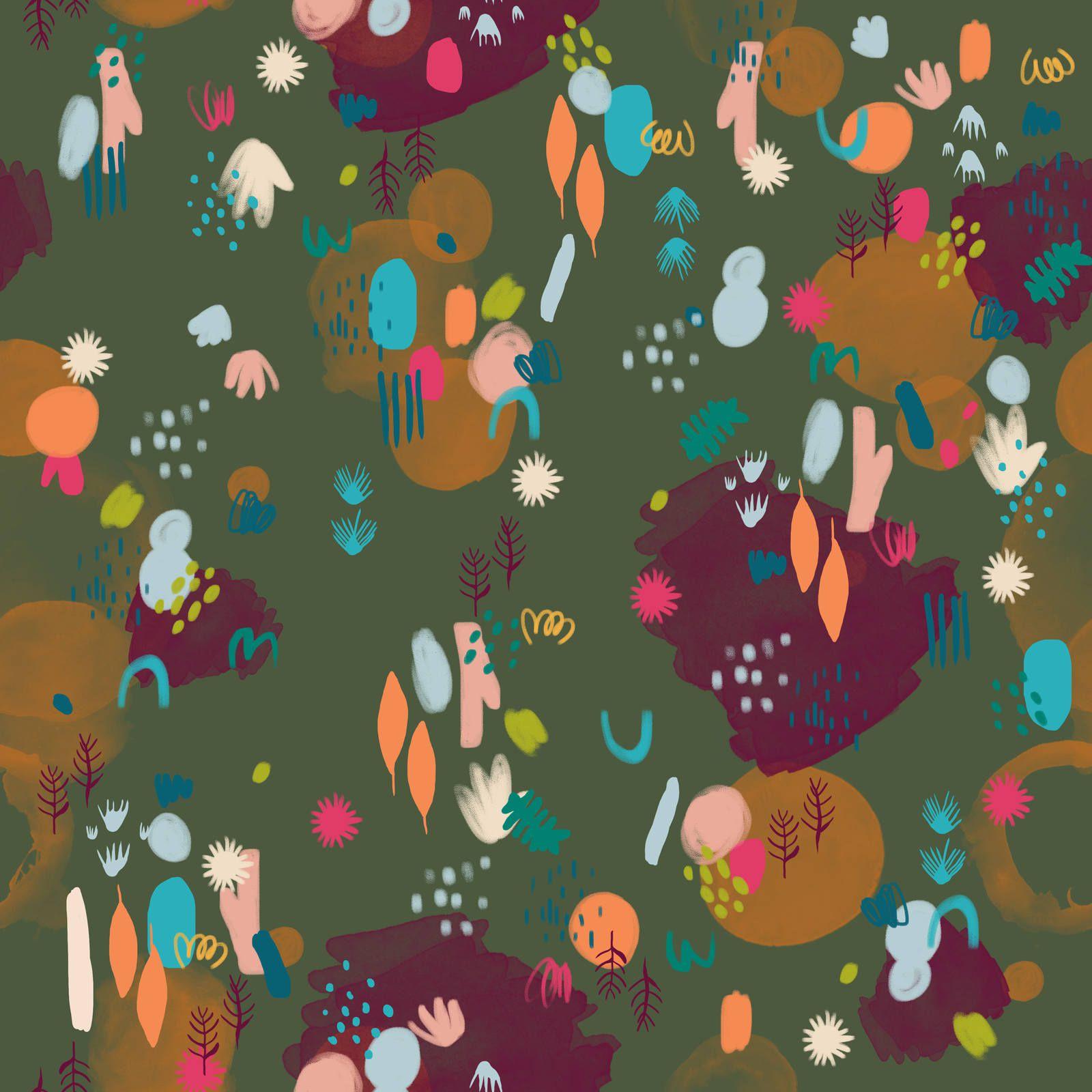 Bata Infantil Turma do Balão Jardim Pintado