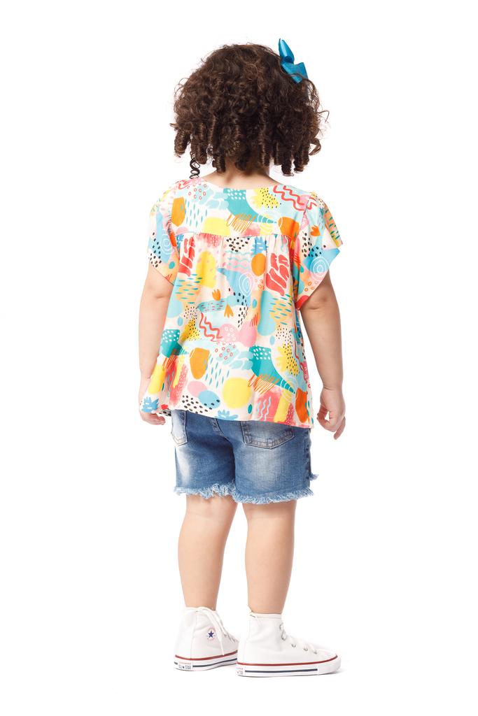 Blusa Infantil Turma do Balão Aromas