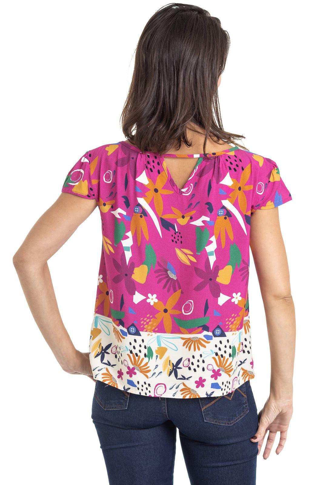 Blusa Mãe Turma do Balão Matisse