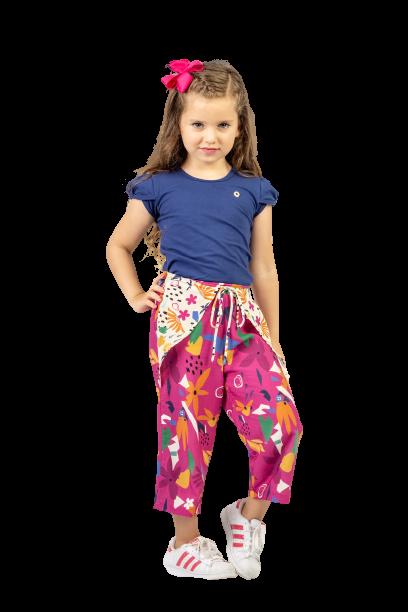 Calça Infantil Pantacourt Turma do Balão Matisse