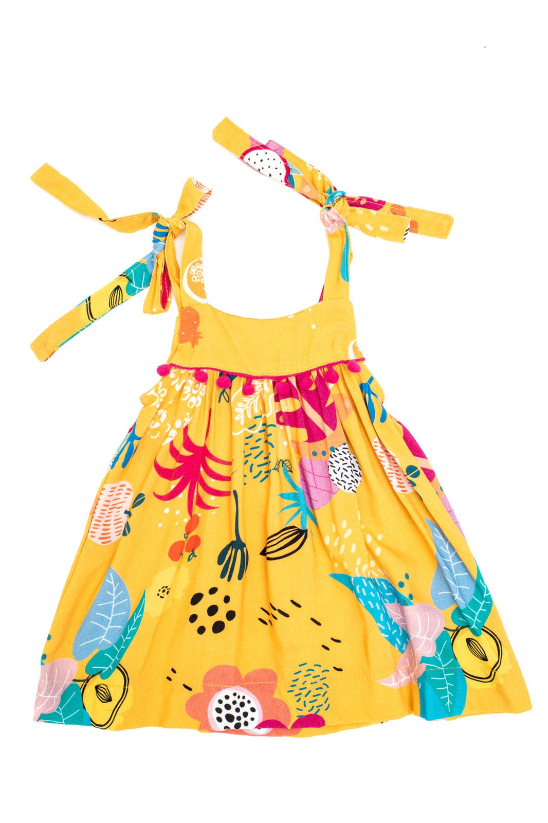 Vestido Bebê Turma do Balão Frutacor