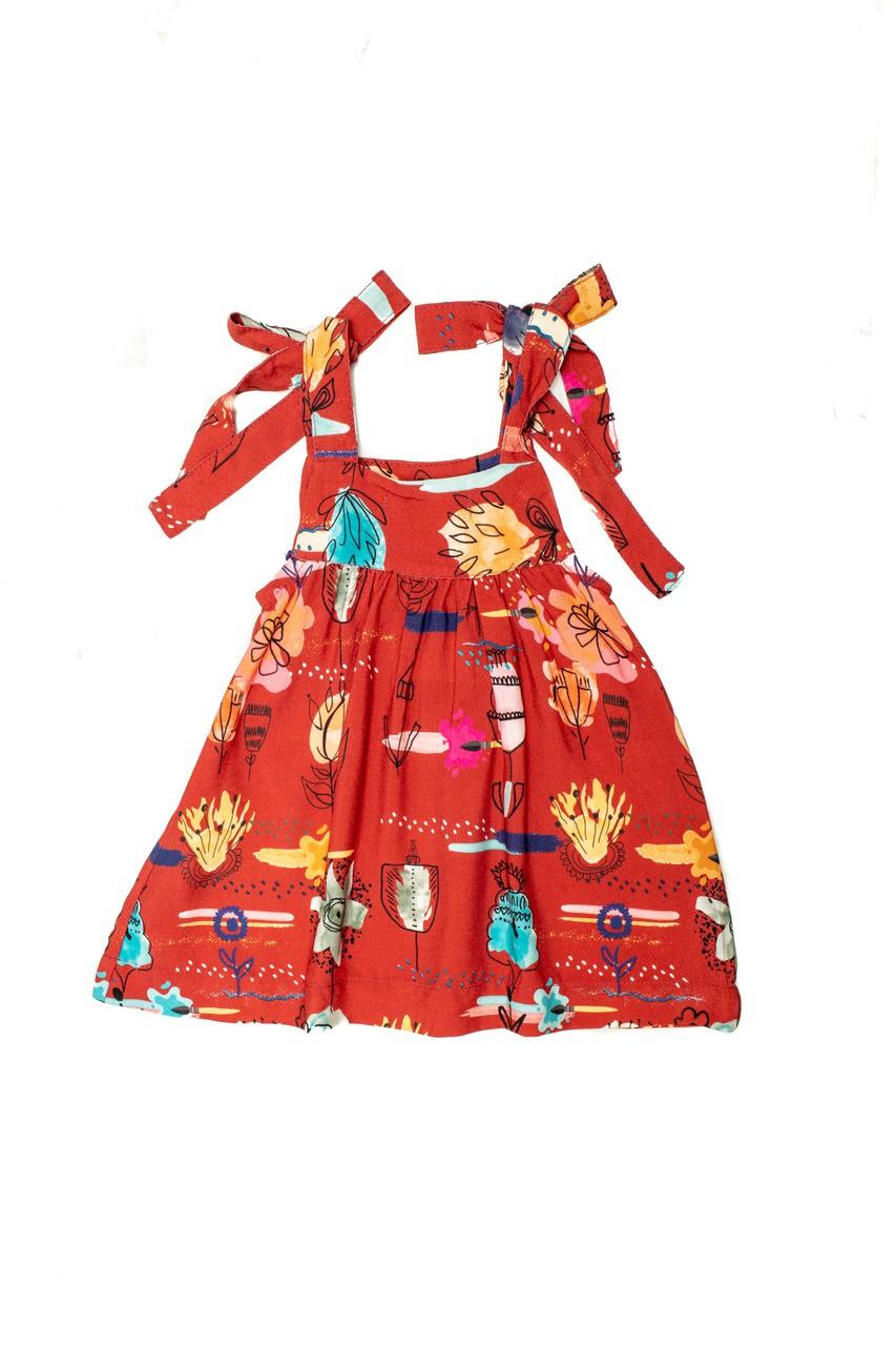 Vestido Bebê Turma do Balão Pintaflor