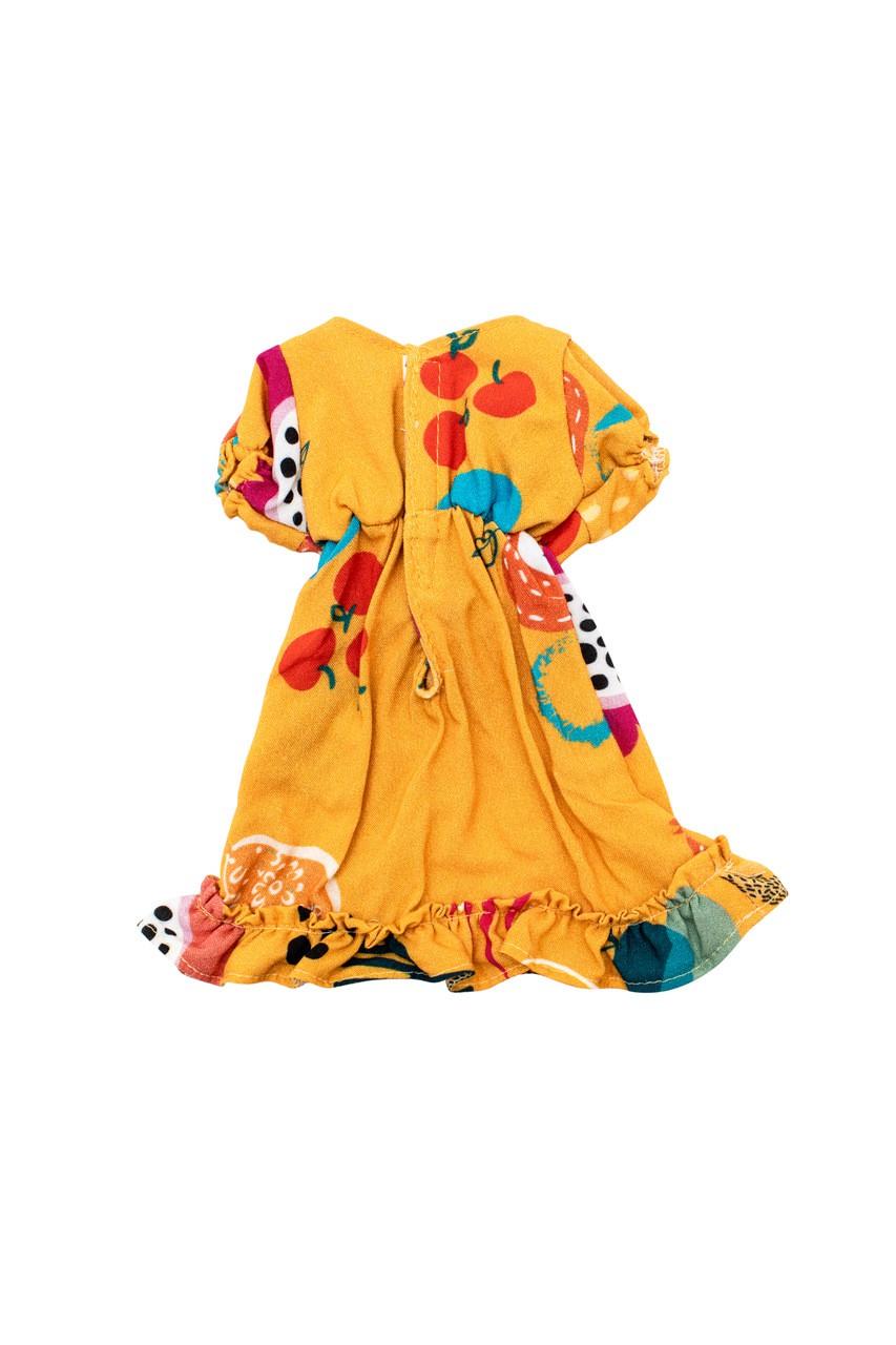 Vestido De Boneca Frutacor