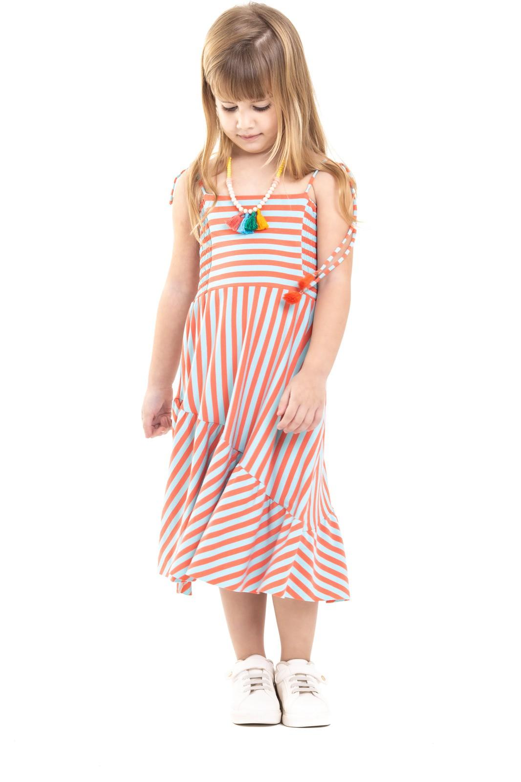 Vestido Infantil em Malha Turma do Balão
