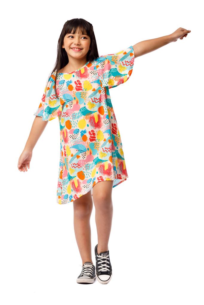 Vestido Infantil Turma do Balão Aromas
