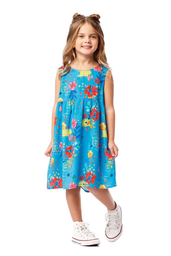 Vestido Infantil Turma do Balão Mercado das Flores