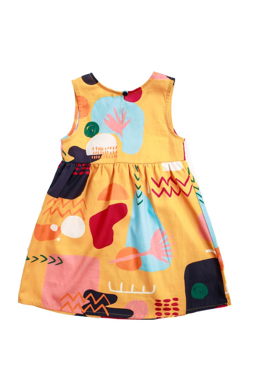 Vestido Infantil Turma do Balão Pé na Estrada