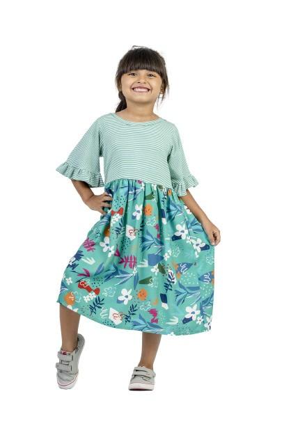 Vestido Midi Infantil Turma do Balão Picasso