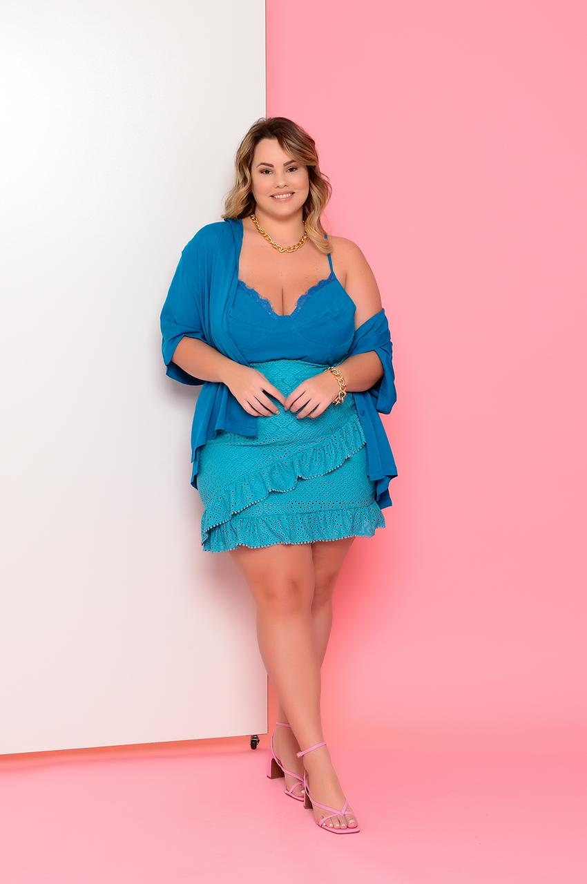 BLUSA PLUS SIZE MARCELY