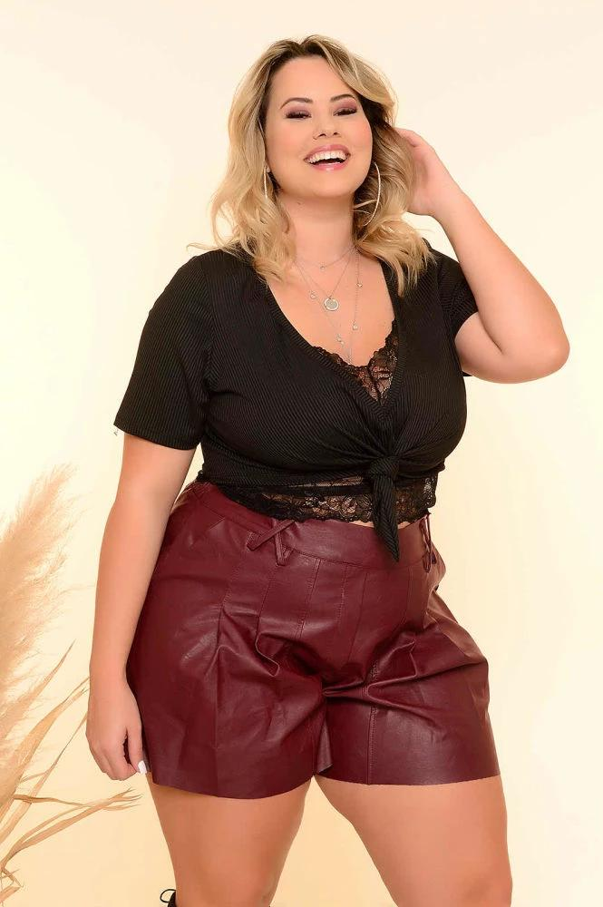 CROPPED PLUS SIZE ANNA