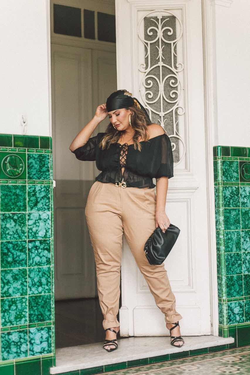 CROPPED PLUS SIZE BR COLLECTION
