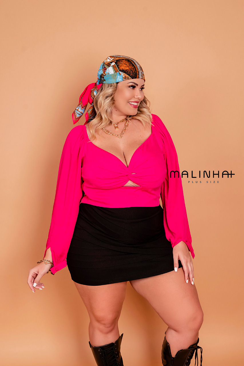 CROPPED PLUS SIZE MAND