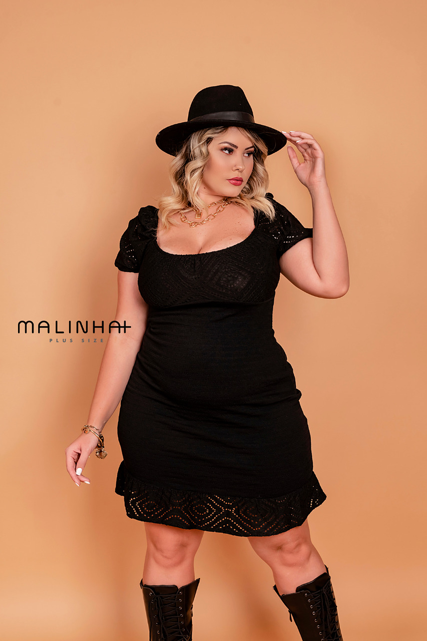 VESTIDO PLUS SIZE JULIANA