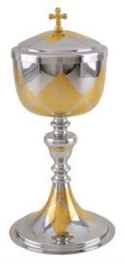 Âmbula ou Cibório 9021 Dourada Interna