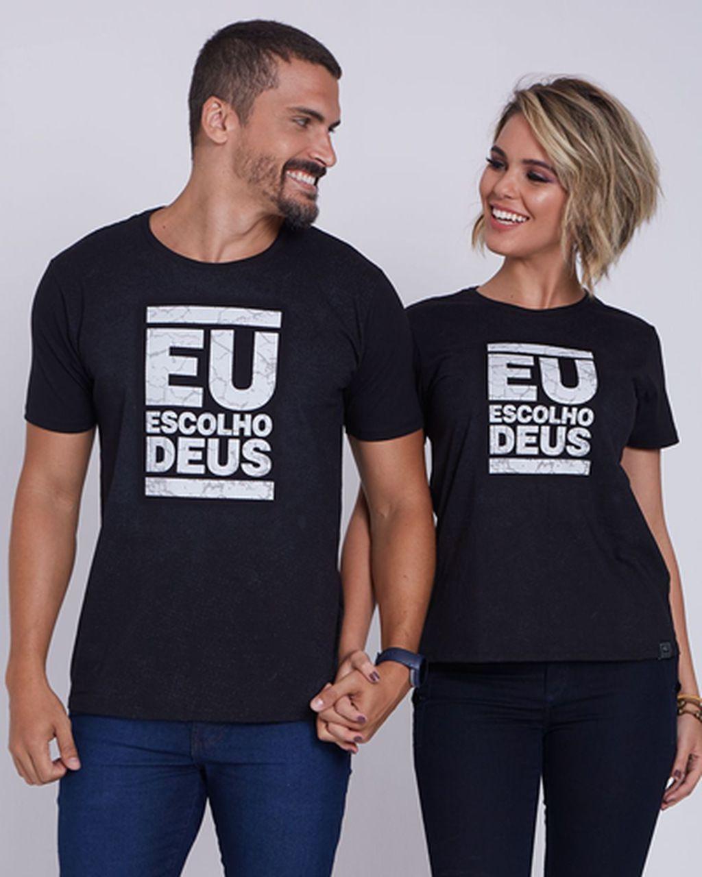 Camiseta Eu Escolho Deus