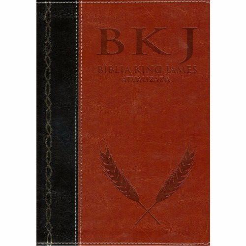 Bíblia King James Atualizada - Preta e Marrom