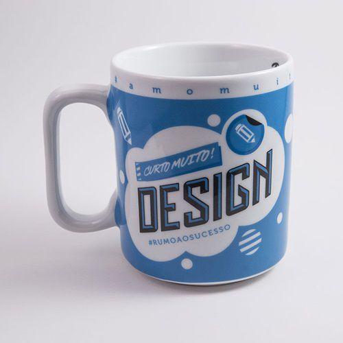 Caneca Curto Muito Design