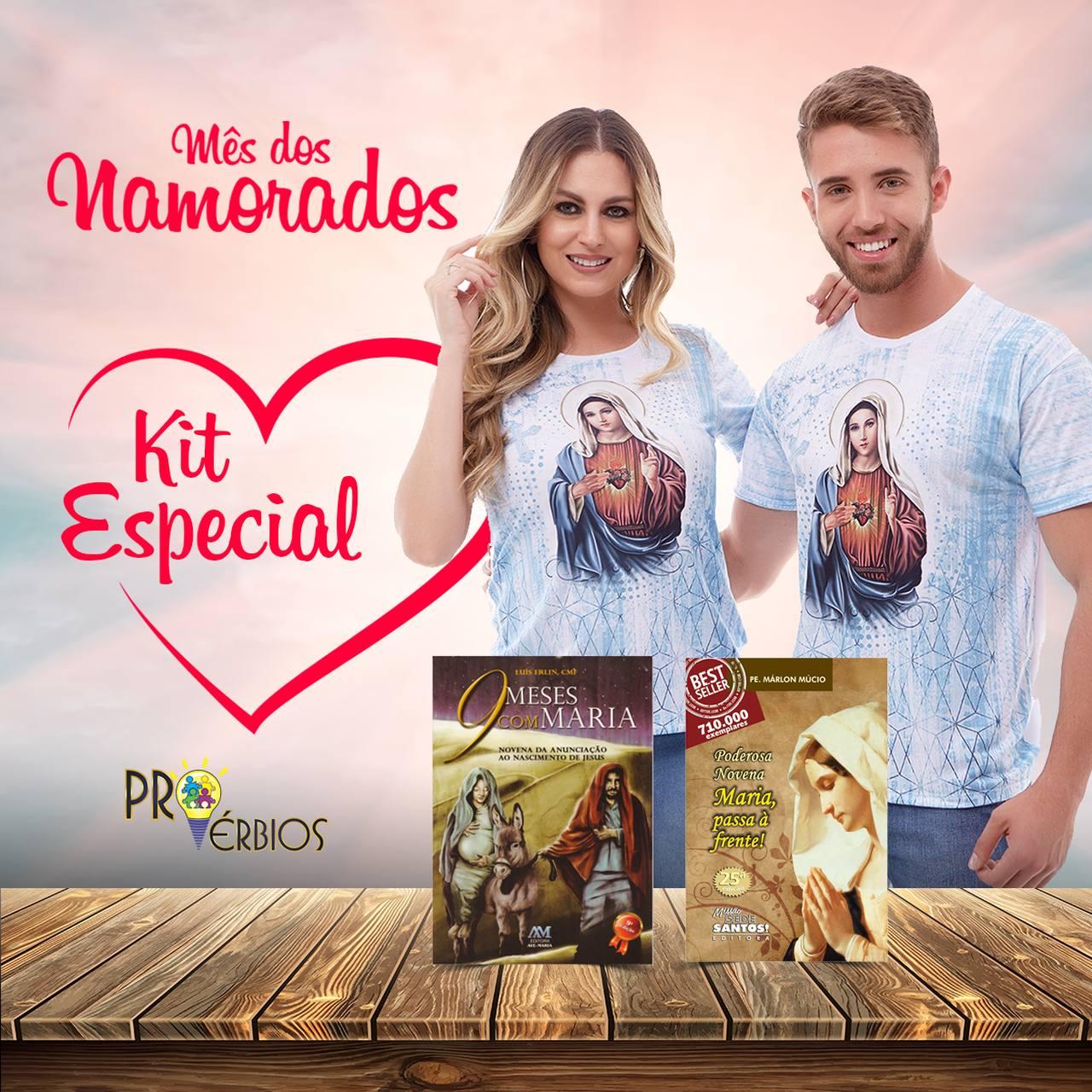 Kit Especial Mês dos Namorados - 2 Livros + 2 Camisas