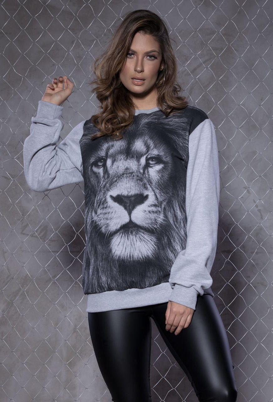 Moletom Leão