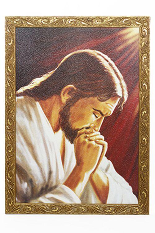 Quadro Jesus Orando