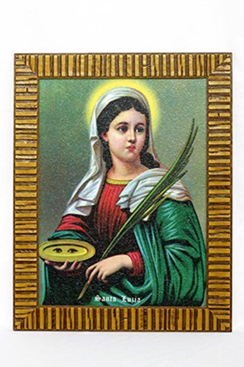 Quadro Santa Luzia 30x40 MR