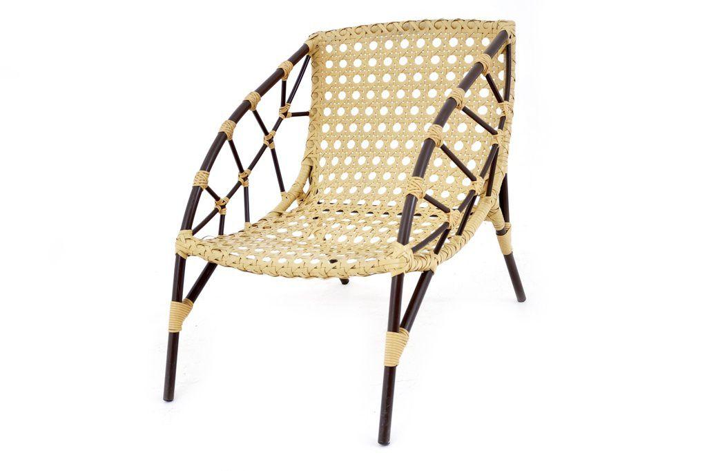 Cadeira de Área Alumínio e Fibra Chade Original Móveis