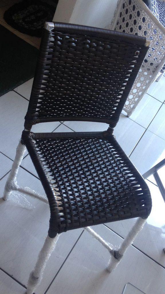 Cadeira de Área Alumínio e Fibra Cuba Original Móveis